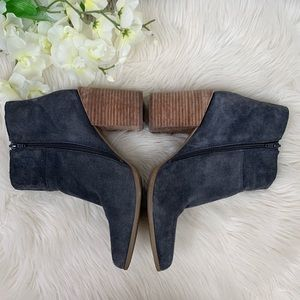 Nine West Shoes - Nine West | Kirby Blue Suede Booties in Size 10M